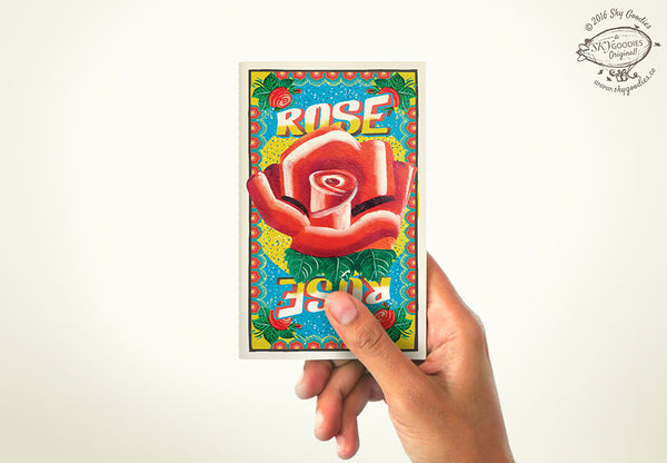 ROSE Mini Notebook (plain pages)