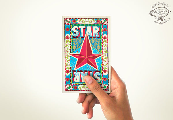STAR Mini Notebook (plain pages)