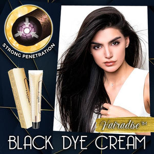 Hairadise™ Black Dye Cream