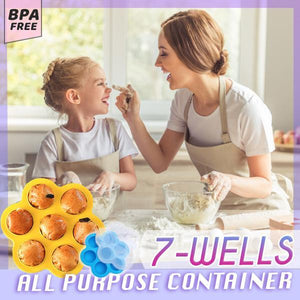 7-Wells All Purpose Container