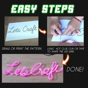 Neon Light DIY Duo