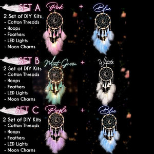 Twinkling Dream Catcher DIY Kit (With LED Light)