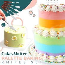 Load image into Gallery viewer, CakesMatter™ Palette Baking Knifes Set (5PCS)