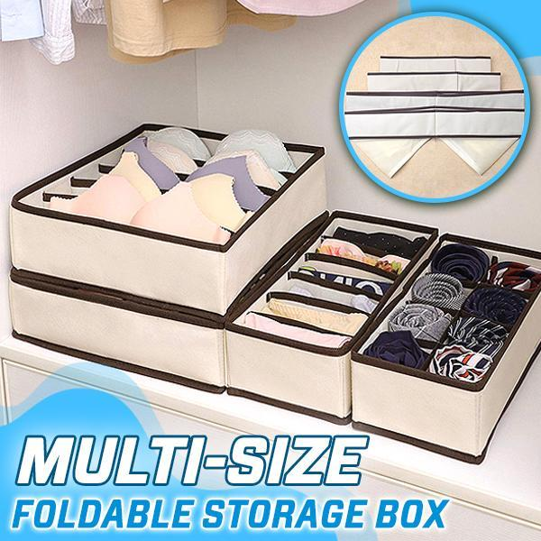 Multi-size Foldable Storage Box