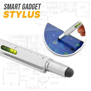 6-In-1 Multi-Functional Stylus Pen