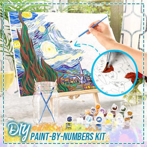DIY Paint-By-Numbers Kit