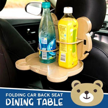 Load image into Gallery viewer, Folding Car Back Seat Dining Table