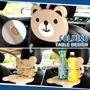 Folding Car Back Seat Dining Table