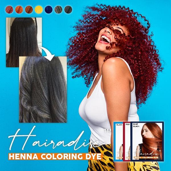 Hairadise™ Henna Coloring Dye (6pcs)