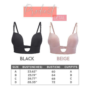 LaxChic™ U-Plunge Low Back Bra