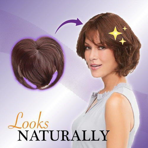 Natural Clip-On Hair Topper
