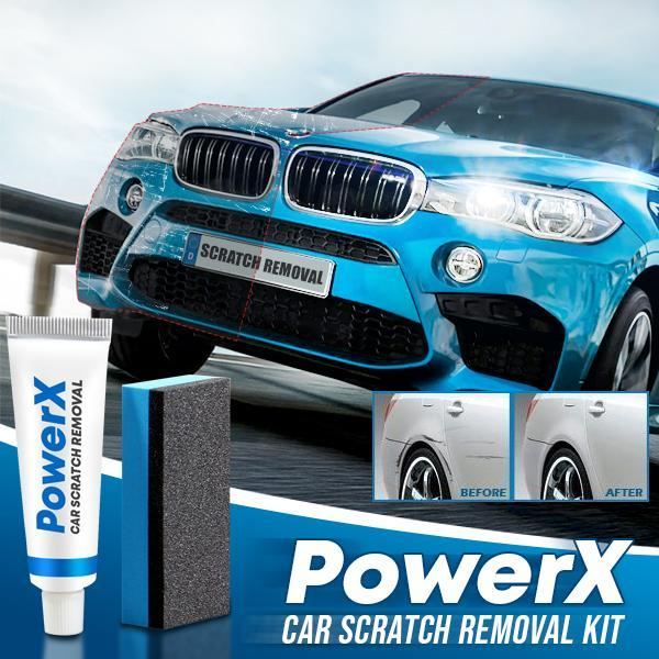 PowerX Car Scratch Removal Kit