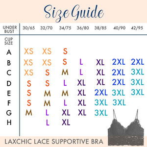 LaxChic™ Lace Supportive Bra