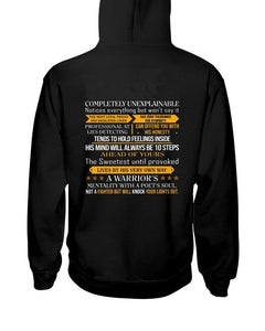 Completely Unexplainable Hooded Sweatshirt