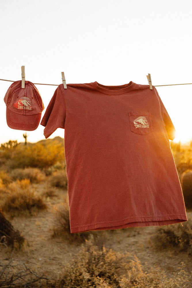 Take a Hike Pocket Tee