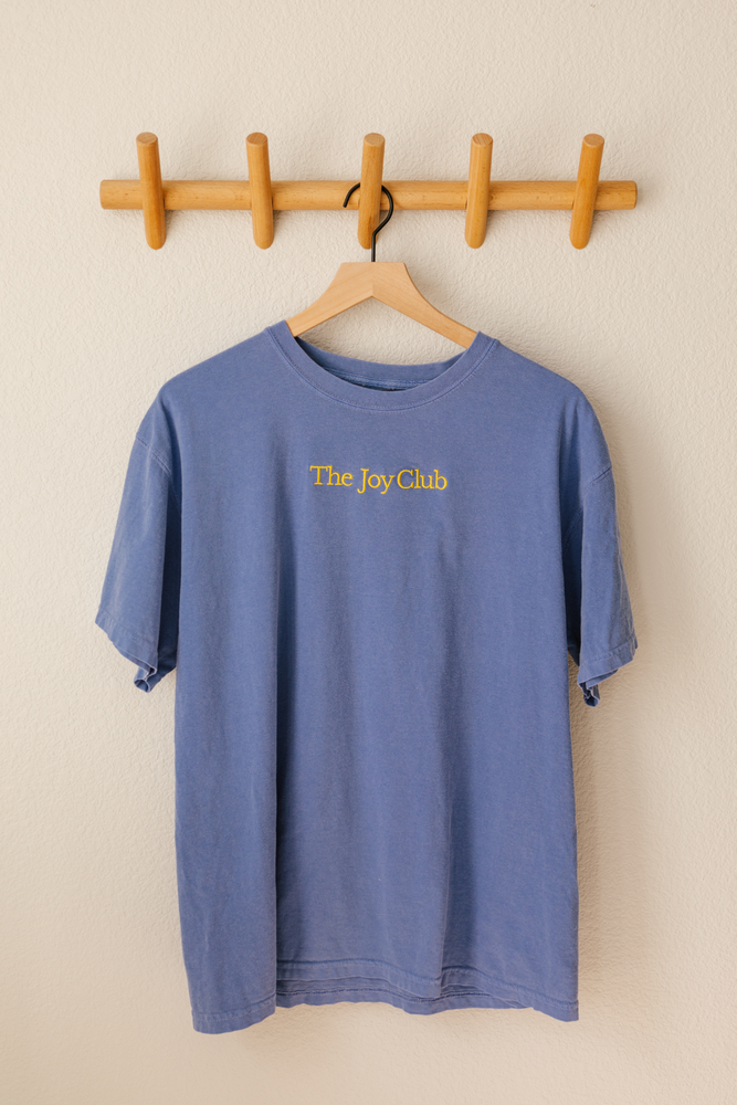 The Joy Club Embroidered Tee
