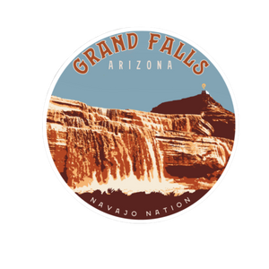 Load image into Gallery viewer, Grand Falls Sticker