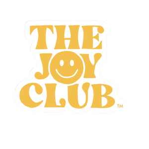 the joy club sticker