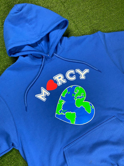 """WORLD CHANGER"" hoodie (royal blue)"