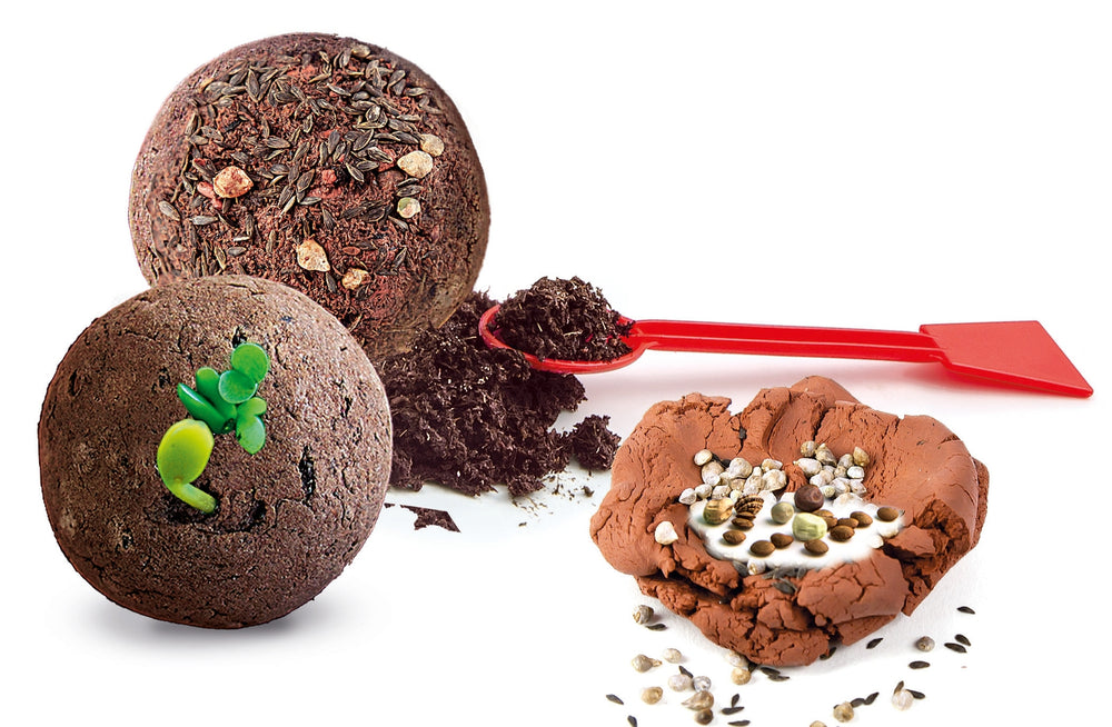 Do It Yourself Seed Bombs