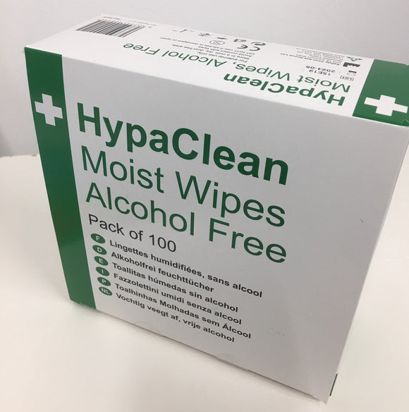 Wipes - Antiseptic (Box of 100 wipes)