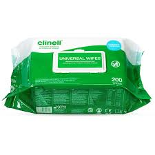 Wipes - Disinfecting surface (72 or 200 wipes/packet)