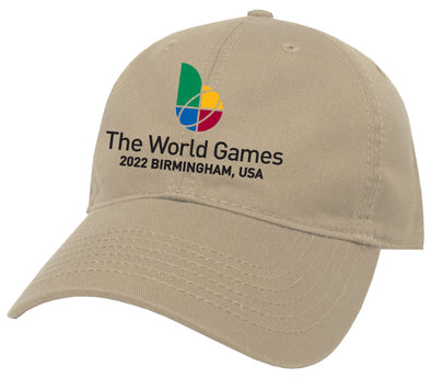 The World Games 2022 EZA Solid Relaxed Twill Hat