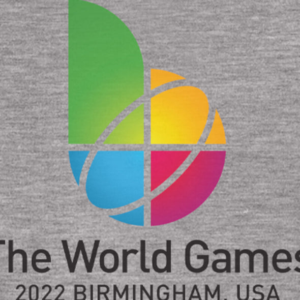 The World Games 2022 Main Logo Men's Long Sleeve T-Shirt