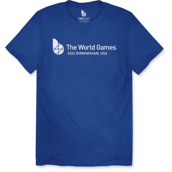 The World Games 2022 Main Logo Cross Unisex Short Sleeve T-Shirt
