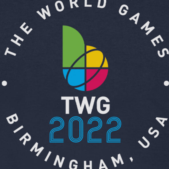 The World Games 2022 Circle TWG2022 Unisex Short Sleeve T-Shirt