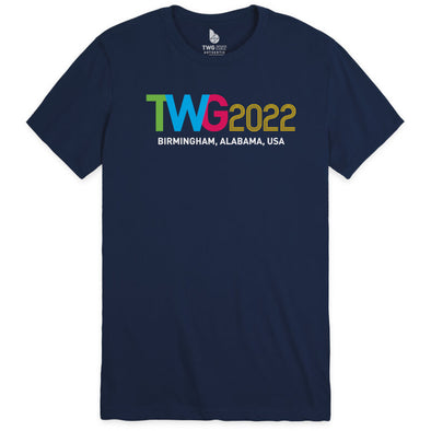 The World Games 2022 TWG2022 Unisex Sueded Short Sleeve T-Shirt