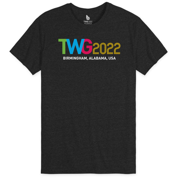 The World Games 2022 TWG2022 Unisex Tri-Blend Short Sleeve T-Shirt