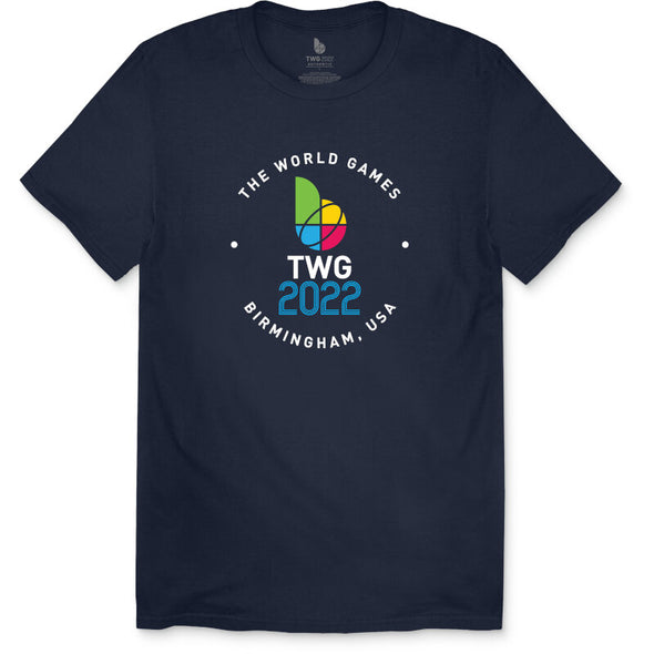 The World Games 2022 Circle TWG2022 Men's Short Sleeve T-Shirt