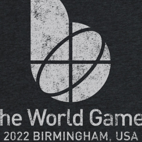 The World Games 2022 Distressed Main Logo Women's Tri-Blend Dolman T-Shirt