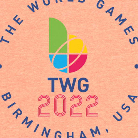 The World Games 2022 Circle TWG2022 Women's Tri-Blend Dolman T-Shirt