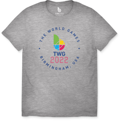 The World Games 2022 Circle TWG2022 Youth Short Sleeve T-Shirt