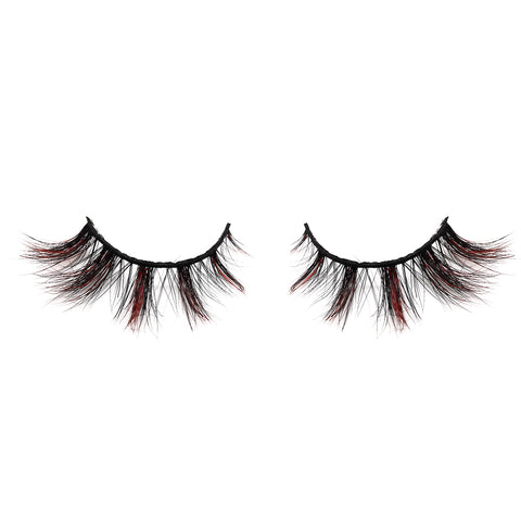 Halloween Farbe Nerz Wimpern CL10