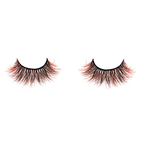 Halloween Farbe Nerz Wimpern CL11
