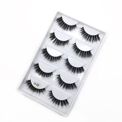 5D Faux Nerz Falsche Wimpern Set 5 Pairs 5D-01