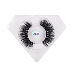 8D Nerz Wimpern Luxuriöse Diamantbox ZS08