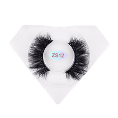 8D Nerz Wimpern Luxuriöse Diamantbox ZS12