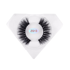 8D Nerz Wimpern Luxuriöse Diamantbox ZS13
