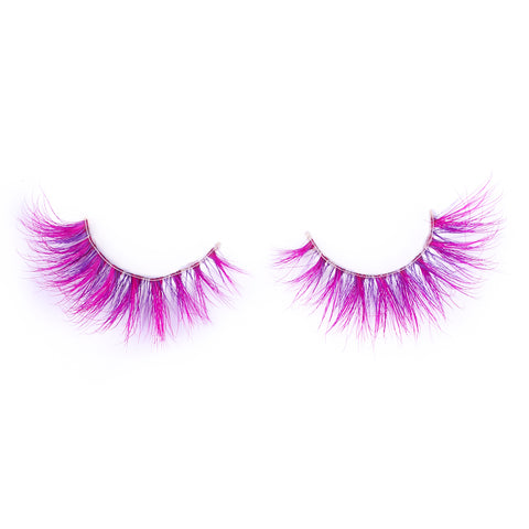 Halloween Farbe Nerz Wimpern CL05