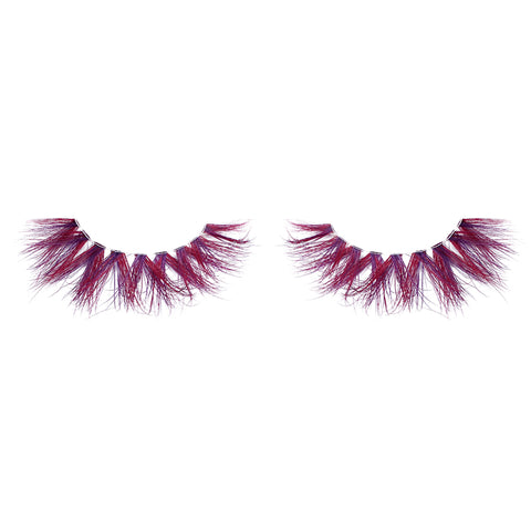 Halloween Farbe Nerz Wimpern CL01