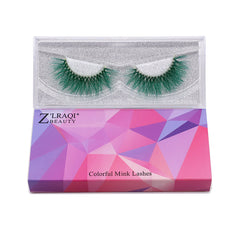 Halloween Farbe Nerz Wimpern CL04