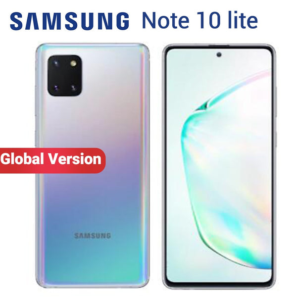"Global Version Samsung Galaxy Note 10 Lite N770F/DS 8GB 128GB Mobile Phone 6.7"" Exynos 9810 Front 32MP Dual SIM NFC Smartphone"