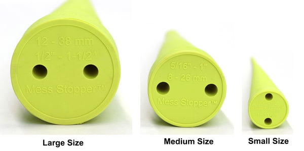 Mess Stopper™, 2 Large, 4 Medium, 4 Small Sizes, Round