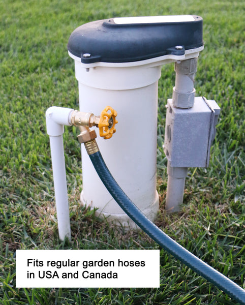 "Sprinkler Garden Faucet with 1/2"" MNPT Connection"