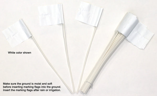 Stake Flags for Marking Sprinkler Heads and Other Objects