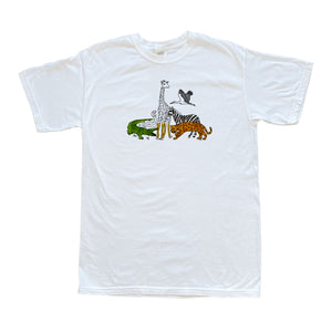Animals Coloring Shirt